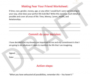 DRAFT of the do it scared worksheet
