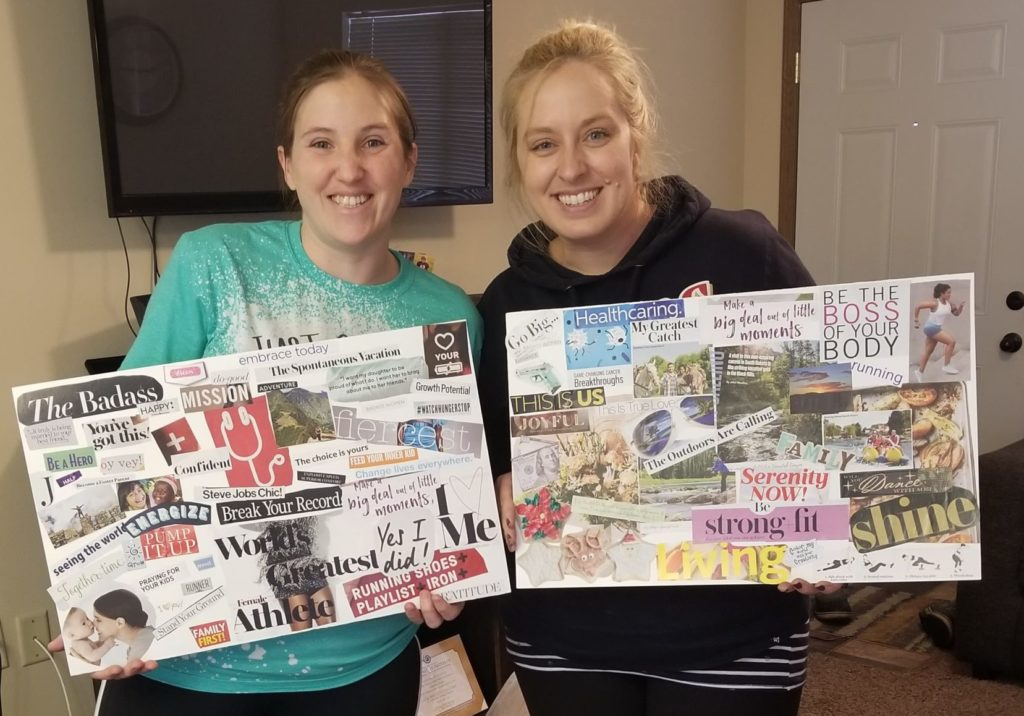Completed Vision Boards