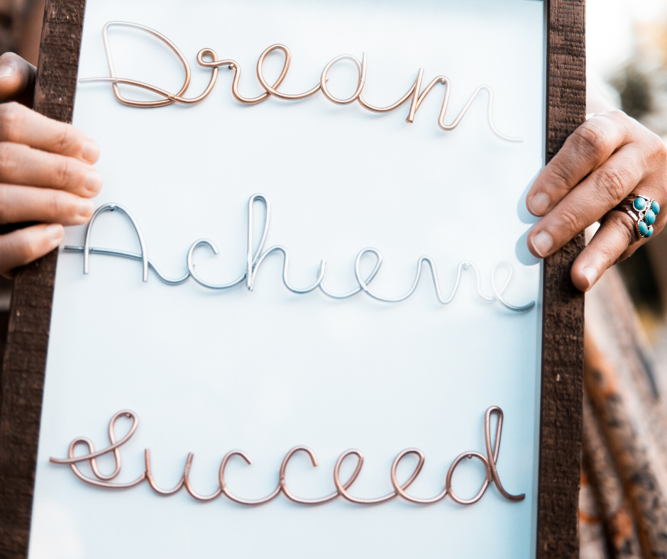Dream Achieve Succeed